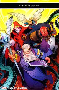 Cover Thumbnail for Uncanny X-Men (Marvel, 2019 series) #6 (625)