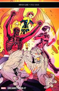 Cover Thumbnail for Uncanny X-Men (Marvel, 2019 series) #7 (626)