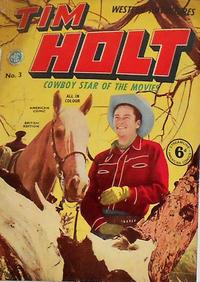 Cover Thumbnail for Tim Holt (Streamline, 1953 series) #3