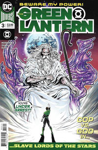 Cover Thumbnail for The Green Lantern (DC, 2019 series) #3 [Liam Sharp Cover]