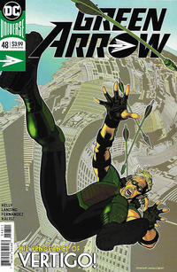 Cover Thumbnail for Green Arrow (DC, 2016 series) #48 [Kevin Nowlan Cover]