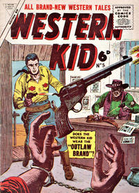 Cover Thumbnail for Western Kid (L. Miller & Son, 1955 series) #5