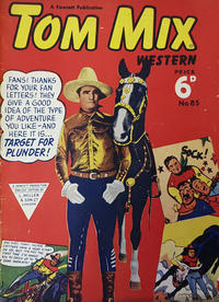 Cover Thumbnail for Tom Mix Western Comic (L. Miller & Son, 1951 series) #85