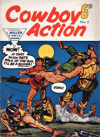 Cover Thumbnail for Cowboy Action (L. Miller & Son, 1956 series) #13