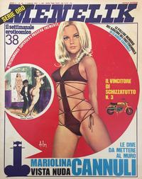 Cover Thumbnail for Menelik (Publistrip, 1971 series) #38