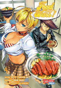 Cover Thumbnail for Food Wars (Carlsen Comics [DE], 2016 series) #4