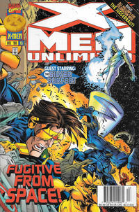 Cover Thumbnail for X-Men Unlimited (Marvel, 1993 series) #13 [Newsstand]