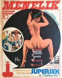 Cover Thumbnail for Menelik (Publistrip, 1971 series) #10
