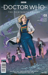 Cover Thumbnail for Doctor Who: The Thirteenth Doctor (Titan, 2018 series) #3 [Cover A]