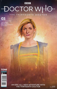 Cover Thumbnail for Doctor Who: The Thirteenth Doctor (Titan, 2018 series) #3 [Cover B]