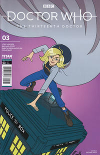 Cover Thumbnail for Doctor Who: The Thirteenth Doctor (Titan, 2018 series) #3 [Cover C]