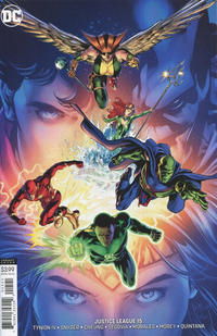 Cover Thumbnail for Justice League (DC, 2018 series) #15 [Will Conrad Variant Cover]