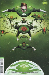 Cover Thumbnail for The Green Lantern (DC, 2019 series) #3 [Jae Lee Variant Cover]
