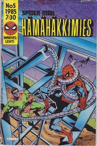 Cover Thumbnail for Hämähäkkimies (Semic, 1980 series) #5/1985