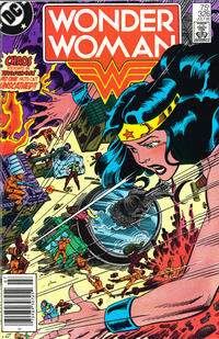 Cover Thumbnail for Wonder Woman (DC, 1942 series) #326 [Newsstand]