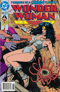Cover Thumbnail for Wonder Woman (DC, 1987 series) #68 [Newsstand]