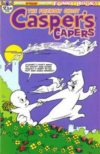 Cover Thumbnail for Casper's Capers (American Mythology Productions, 2018 series) #2 [Retro Cover]