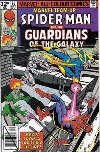 Cover Thumbnail for Marvel Team-Up (Marvel, 1972 series) #86 [British]