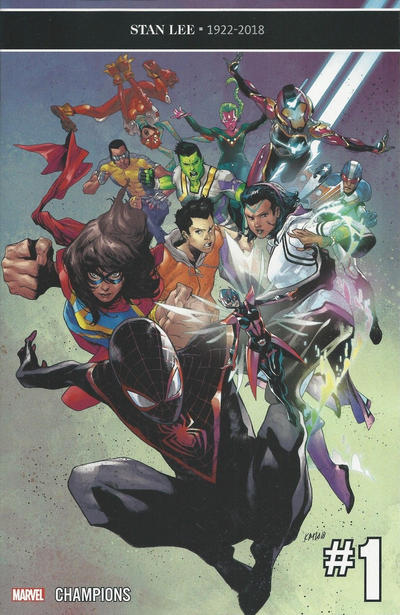Cover for Champions (Marvel, 2019 series) #1