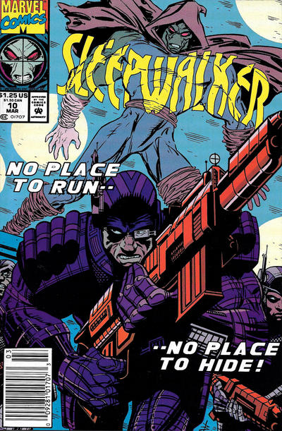 Cover for Sleepwalker (Marvel, 1991 series) #10 [Direct]