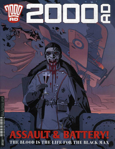 Cover for 2000 AD (Rebellion, 2001 series) #2112
