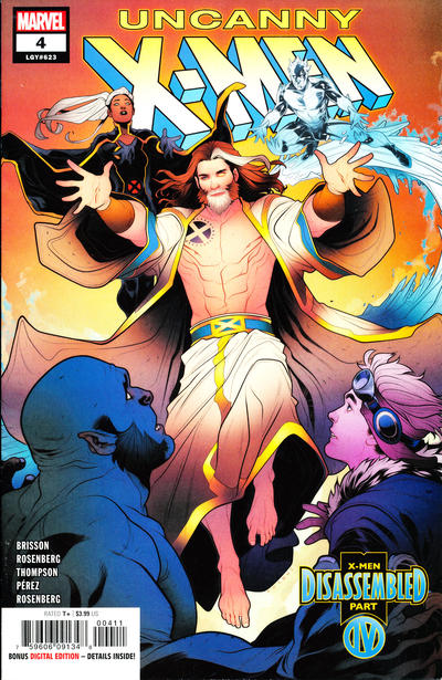 Cover for Uncanny X-Men (Marvel, 2019 series) #4 (623) [Second Printing]