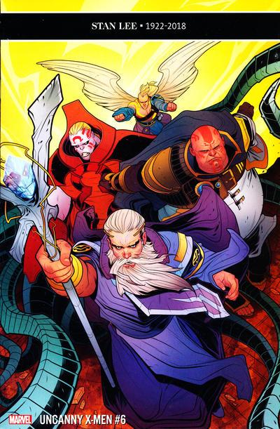 Cover for Uncanny X-Men (Marvel, 2019 series) #6 (625)