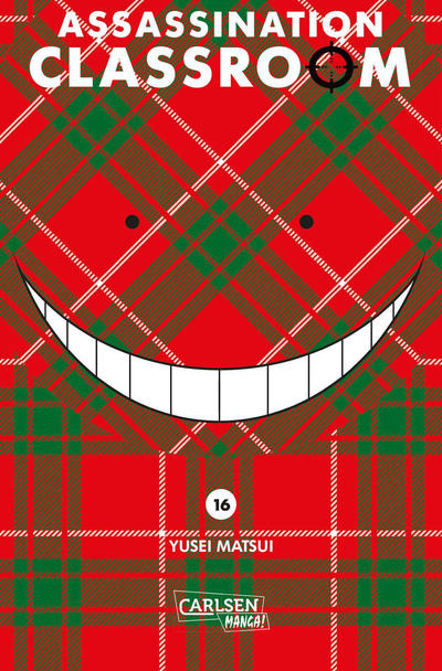 Cover for Assassination Classroom (Carlsen Comics [DE], 2014 series) #16