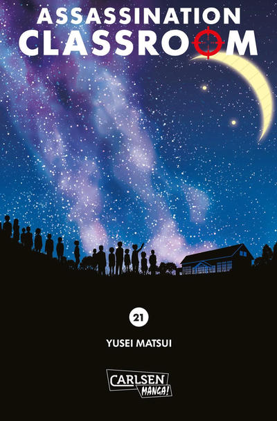 Cover for Assassination Classroom (Carlsen Comics [DE], 2014 series) #21