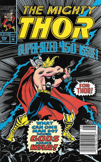 Cover for Thor (Marvel, 1966 series) #450 [Direct]