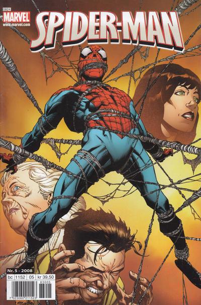 Cover for Spider-Man (Bladkompaniet / Schibsted, 2007 series) #5/2008