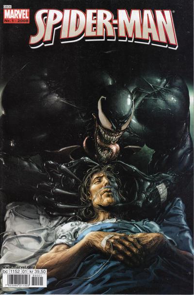 Cover for Spider-Man (Bladkompaniet / Schibsted, 2007 series) #1/2008
