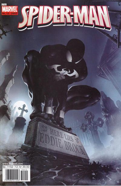 Cover for Spider-Man (Bladkompaniet / Schibsted, 2007 series) #12/2007