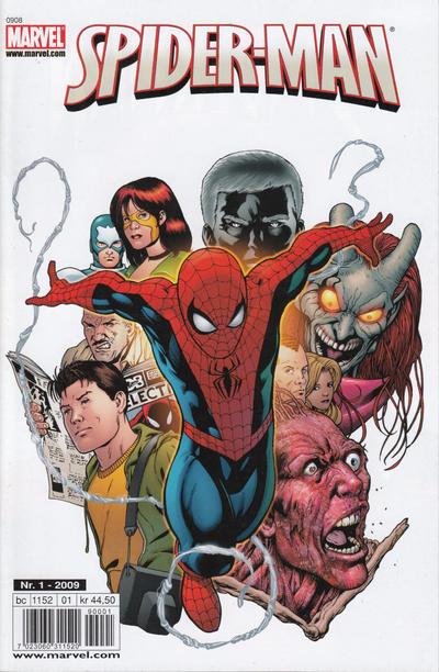 Cover for Spider-Man (Bladkompaniet / Schibsted, 2007 series) #1/2009