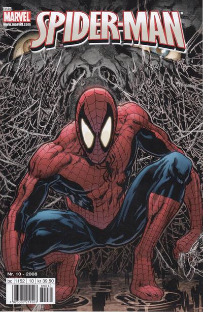 Cover for Spider-Man (Bladkompaniet / Schibsted, 2007 series) #10/2008