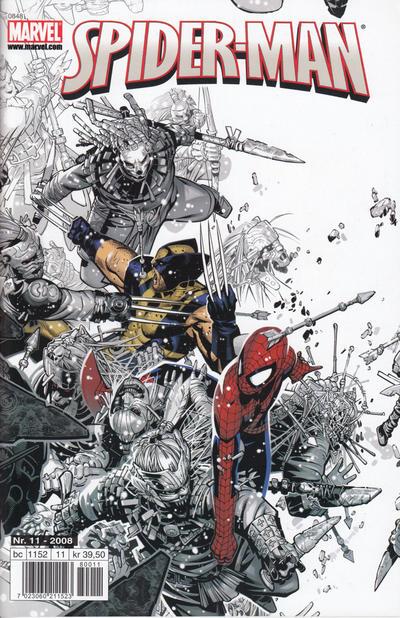 Cover for Spider-Man (Bladkompaniet / Schibsted, 2007 series) #11/2008