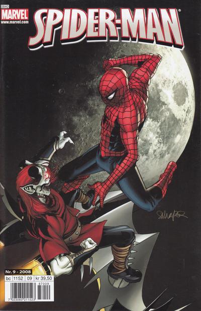 Cover for Spider-Man (Bladkompaniet / Schibsted, 2007 series) #9/2008