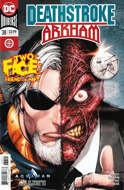 Cover for Deathstroke (DC, 2016 series) #38 [Francesco Mattina Cover]