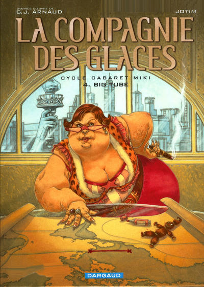 Cover for La compagnie des glaces (Dargaud, 2003 series) #11