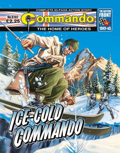 Cover for Commando (D.C. Thomson, 1961 series) #5187