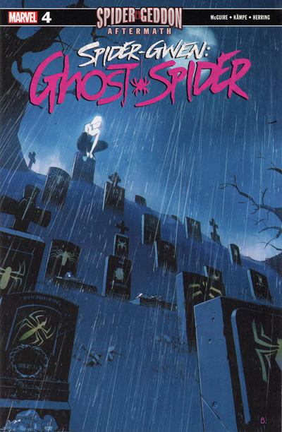 Cover for Spider Gwen: Ghost Spider (Marvel, 2018 series) #4