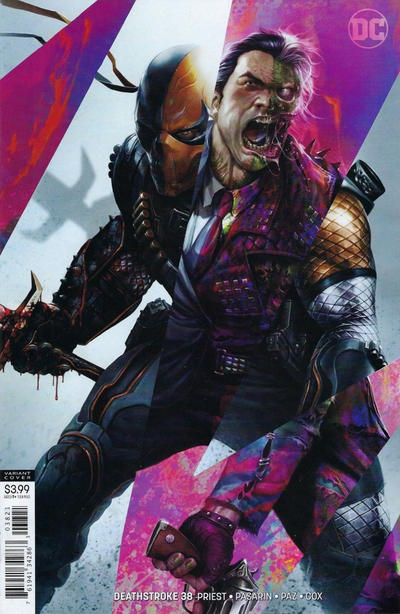 Cover for Deathstroke (DC, 2016 series) #38