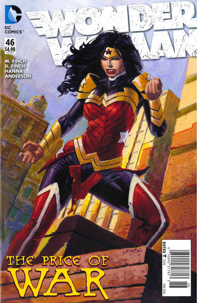 Cover for Wonder Woman (DC, 2011 series) #46 [Newsstand]