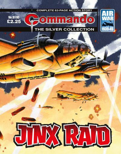 Cover for Commando (D.C. Thomson, 1961 series) #5190