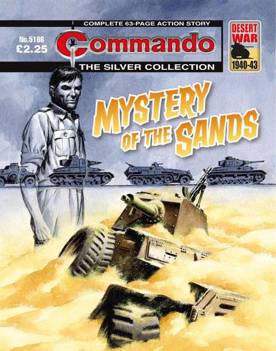 Cover for Commando (D.C. Thomson, 1961 series) #5186