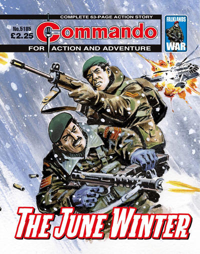 Cover for Commando (D.C. Thomson, 1961 series) #5185