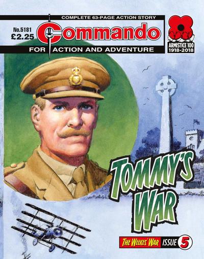 Cover for Commando (D.C. Thomson, 1961 series) #5181