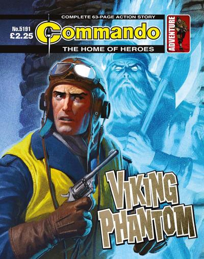Cover for Commando (D.C. Thomson, 1961 series) #5191