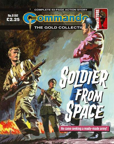 Cover for Commando (D.C. Thomson, 1961 series) #5192