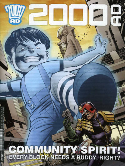 Cover for 2000 AD (Rebellion, 2001 series) #2113